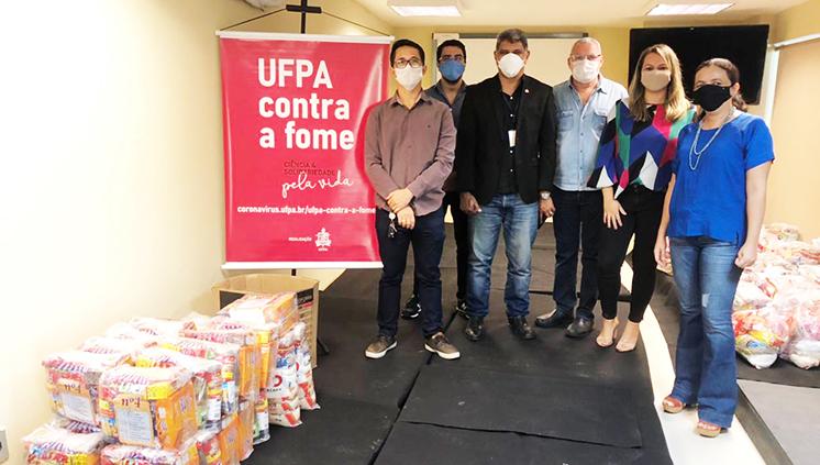 Mais unidades acadêmicas e administrativas fazem doações à Campanha UFPA contra a fome